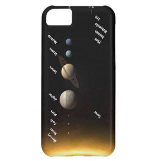 Sistema Solar Funda Para iPhone 5C