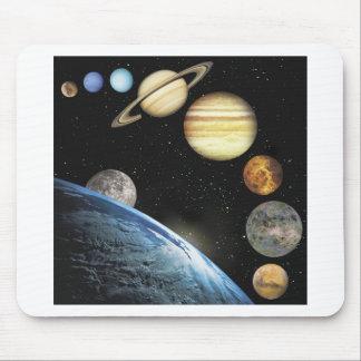 sistema solar mousepad