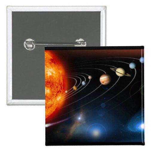 """Sistema Solar "" Pins"