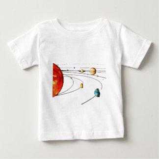 Sistema Solar Playera De Bebé
