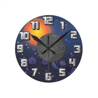 Sistema Solar Relojes De Pared