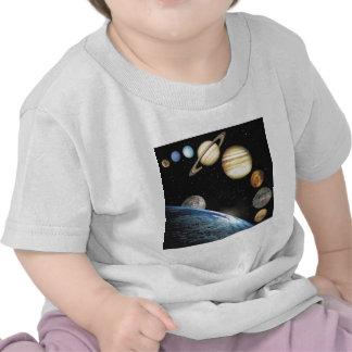 sistema solar t-shirts