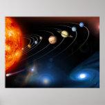 Sistema Solar y más allá Póster