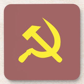 Sistema soviético del práctico de costa posavasos de bebidas