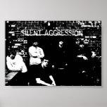 Sistema torcido de la agresión silenciosa impresiones