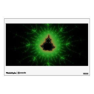 Sistema verde de Mandelbrot Vinilo Adhesivo