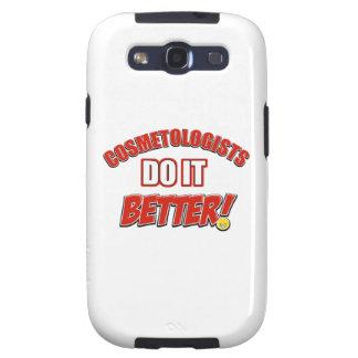 Sistemas de trabajo de los Cosmetologists Samsung Galaxy S3 Protectores