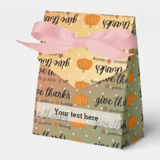 Sistemas del fiesta de la acción de gracias cajas para detalles de boda