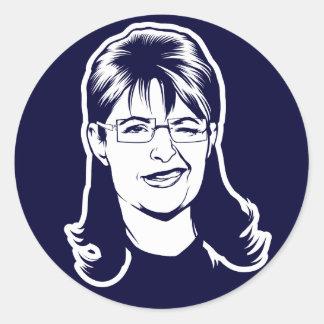 Sistemas del pegatina de Palin Winker