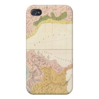 Sistemas fluviales de América iPhone 4/4S Carcasa