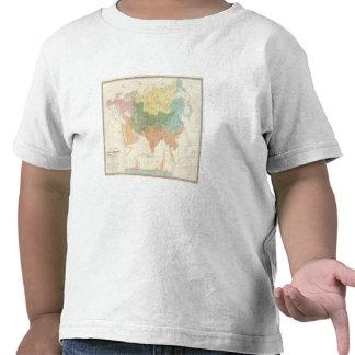 Sistemas fluviales de Asia, Europa Camisetas