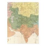 Sistemas fluviales de Asia, Europa Tarjeta Postal