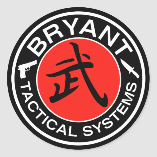 Sistemas tácticos de Bryant Pegatina Redonda