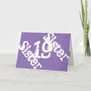 Sisters 19th Birthday Gifts On Zazzle