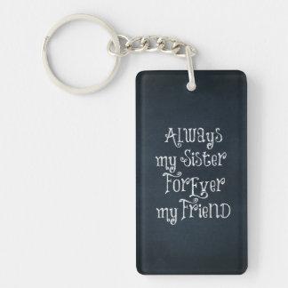 Sister Acrylic Keychain