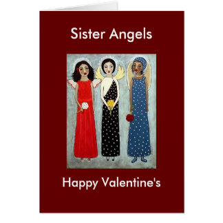 Sister Angels Card