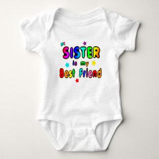 Sister Best Friend Baby Bodysuit