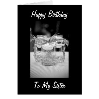 SISTER BEST FRIEND BIRTHDAY BY CANDLELITE CARDS