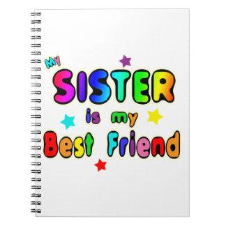 Sister Best Friend Note Books