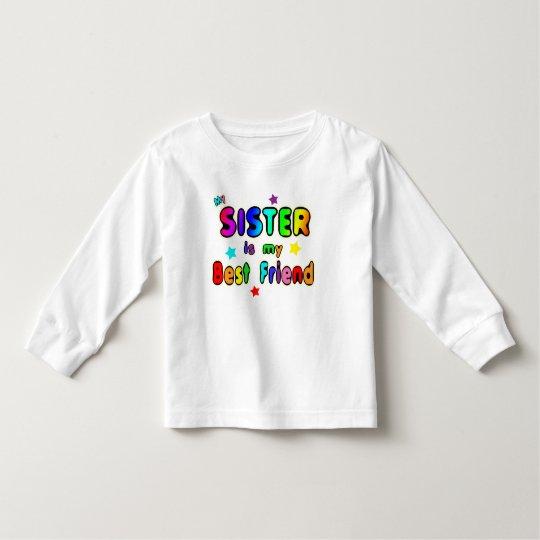 Sister Best Friend Toddler T-shirt
