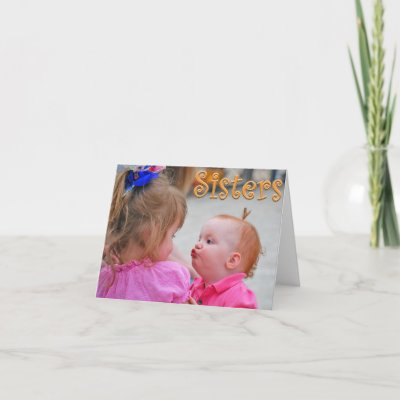 Cards For Sister. Sister Birthday Card by