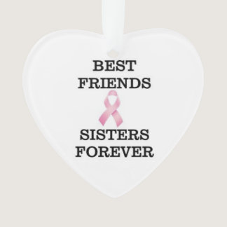 Sister Breast Cancer Ornament