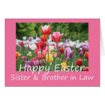 Sister + Brother in Law Happy Easter Tulip card