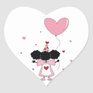 Sister Celebrates You Heart Stickers