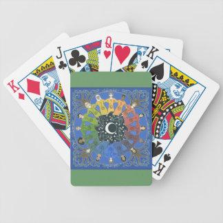 """Sister Circle"" playing cards"
