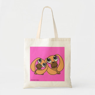 Sister Droopy Ear Dog Tote bag
