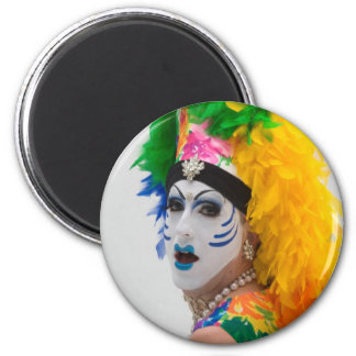Sister Frances A Sissy 2 Inch Round Magnet