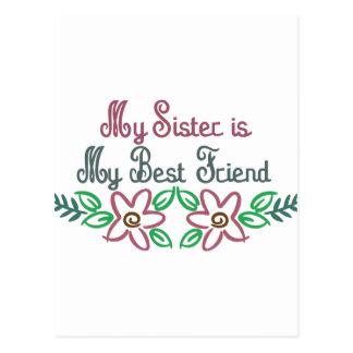 Sister-Friend Postcard