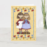 """Sister Friendship Birthday Card<br><div class=""""desc"""">Say Happy Birthday with this cute card from the Cozy Country Collection at www.zazzle.com/RanchLady*  &gt;&gt;&gt; CUSTOMIZABLE design:  change any of the graphics or text and add your own message!</div>"""