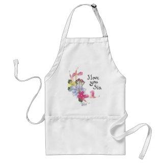Sister gift apron
