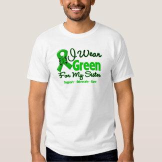 Sister - Green  Awareness Ribbon T-shirts