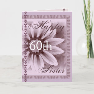Sisters 60th Birthday Cards