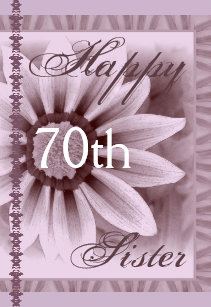 Sisters 70th Birthday Gifts On Zazzle
