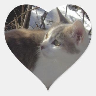 Sister Heart Sticker