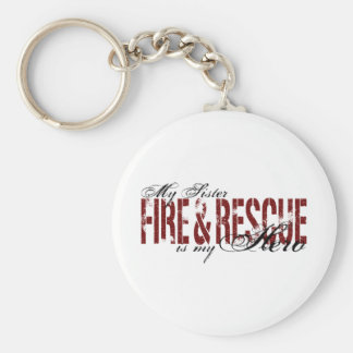 Sister Hero - Fire & Rescue Basic Round Button Keychain