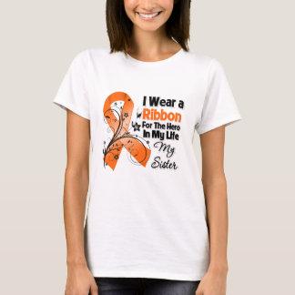 Sister Hero in My Life Leukemia T-Shirt