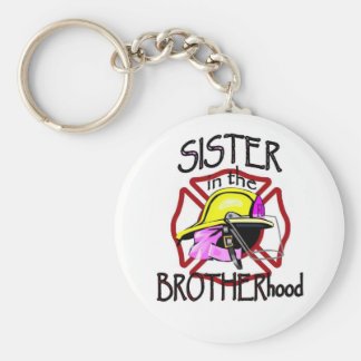 Sister in Brotherhood Keychain