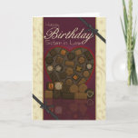 "Sister in Law Birthday Card - Chocolates<br><div class=""desc"">Sister in Law Birthday Card - Chocolates</div>"