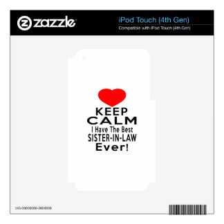 SISTER-IN-LAW DESIGNS iPod TOUCH 4G DECAL