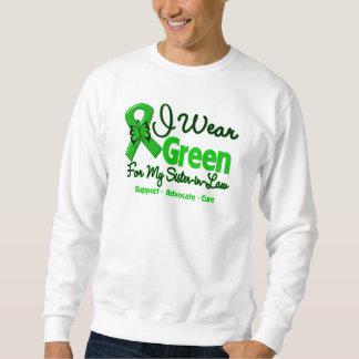 Sister-in-Law - Green  Awareness Ribbon Sweatshirt