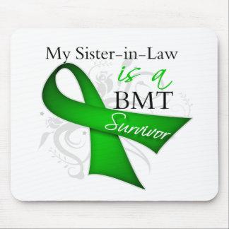 Sister-in-Law is a Bone Marrow Transplant Survivor Mouse Pad