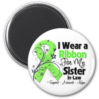 Sister-in-Law - Lymphoma Ribbon 2 Inch Round Magnet