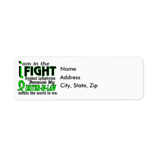 Sister-In-Law Means The World To Me Breast Cancer Label