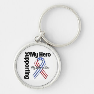 Sister-in-Law - Military Supporting My Hero Keychain