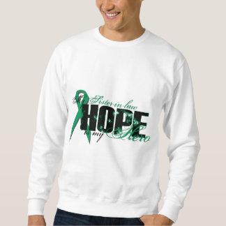Sister-in-law My Hero - Kidney Cancer Hope Sweatshirt