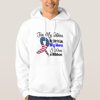 Sister-in-Law - My Soldier, My Hero Patriotic Ribb Pullover